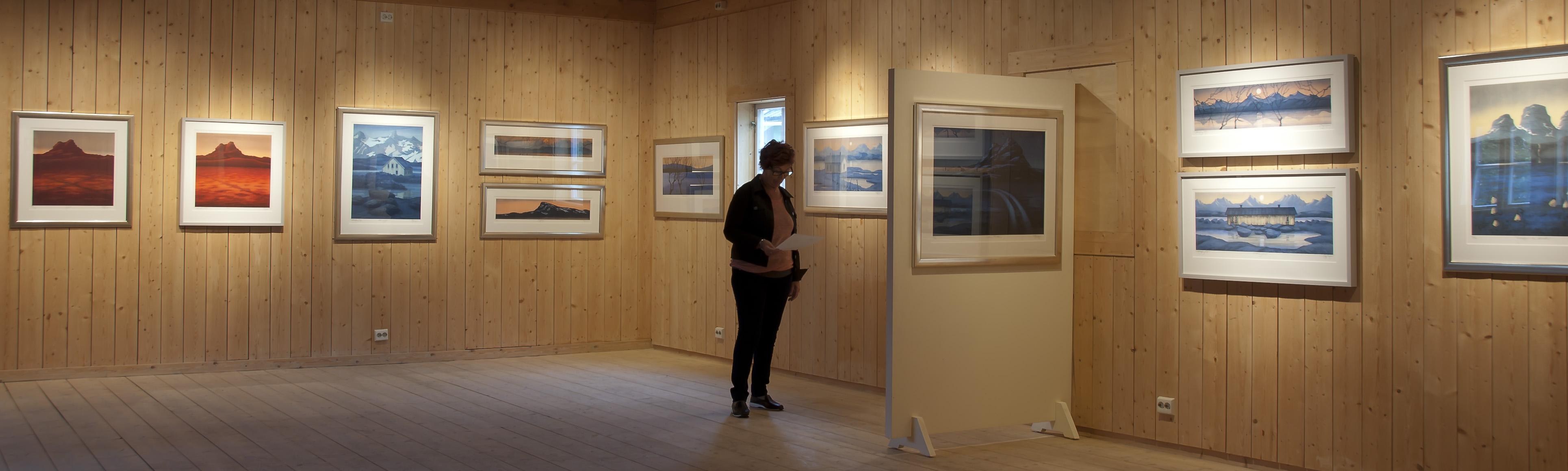 Super Eva Harr: Mørkets Lys | mosjoenkunstforening EK-63